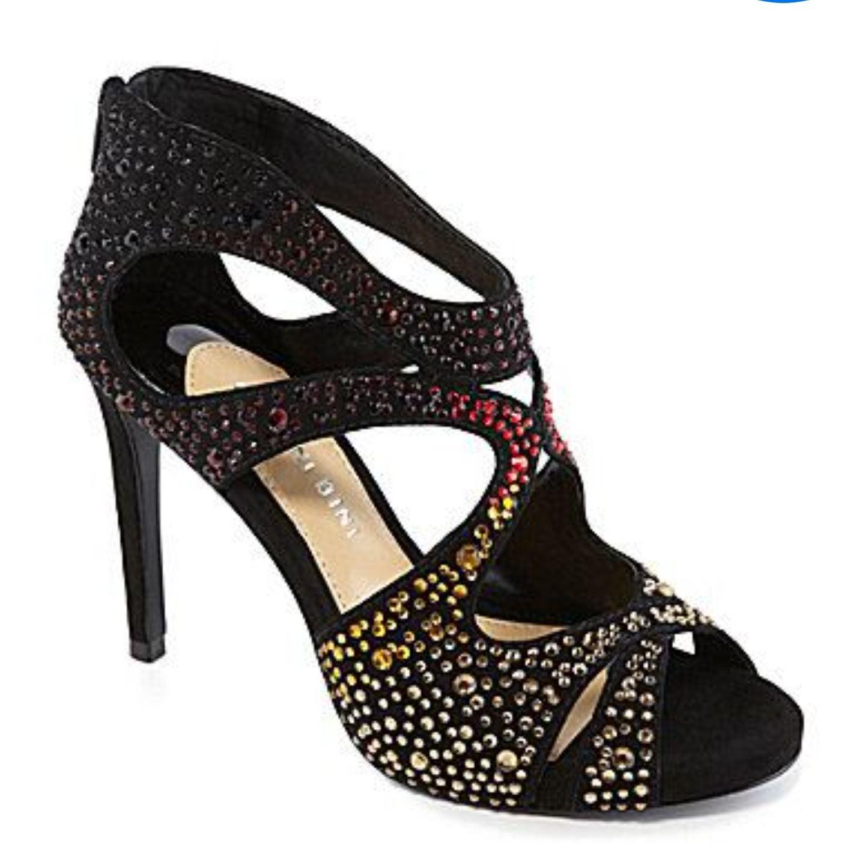 Gianni Bini Flame Cutout Sandals