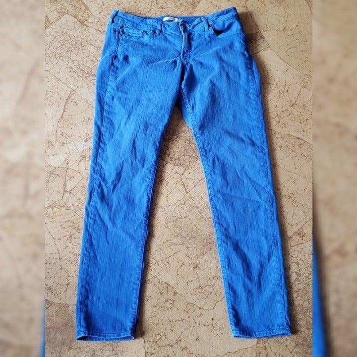 Blue Essence Women Jeans Blue Size 14