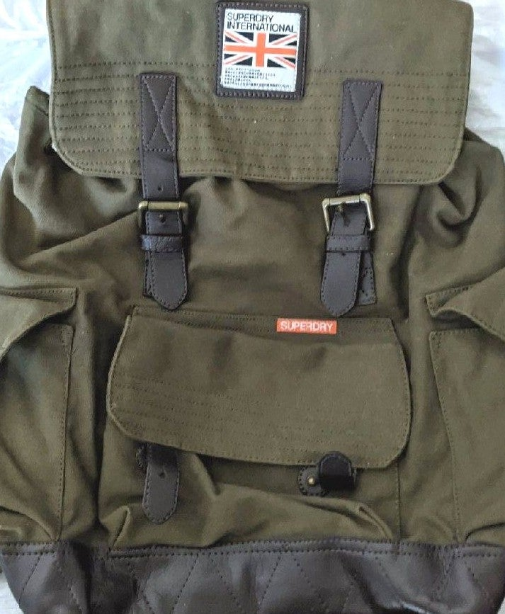 Superdry army backpack