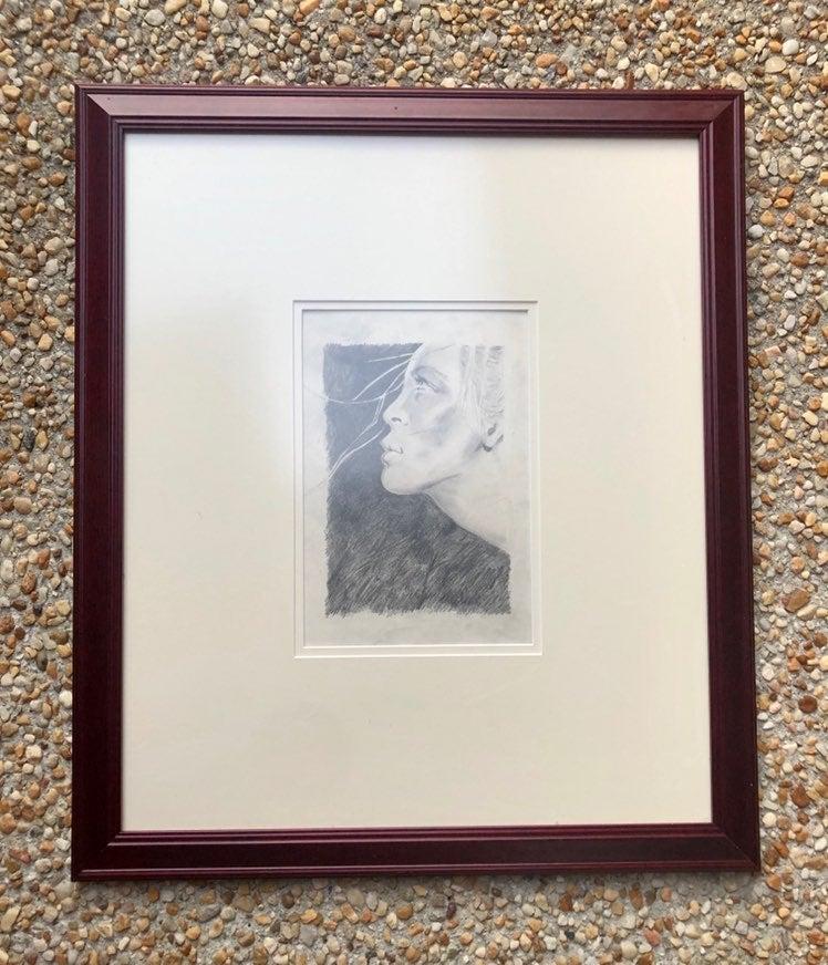 Original drawing in custom frame