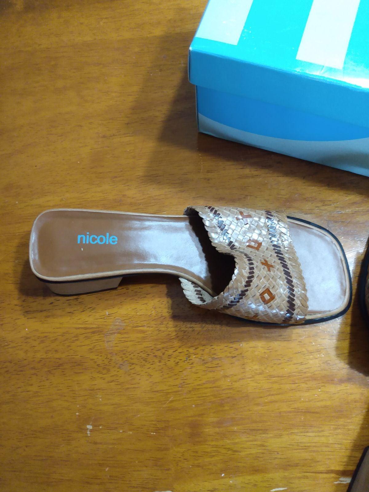 Women's New Nicole Sandals Size 8.5