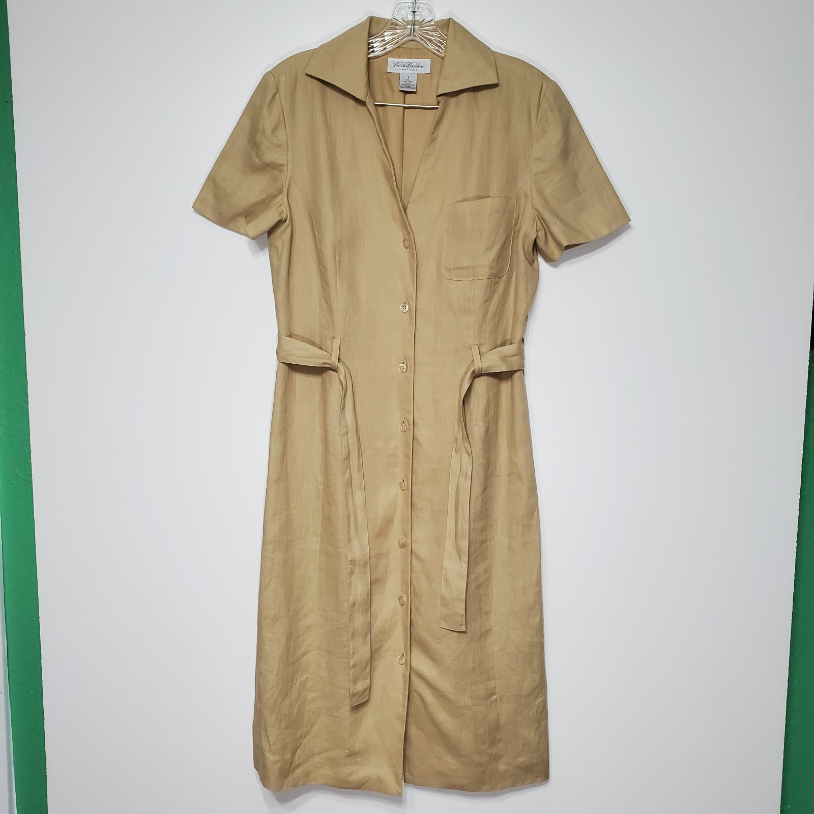 Brooks Brothers 6 irish linen Dress