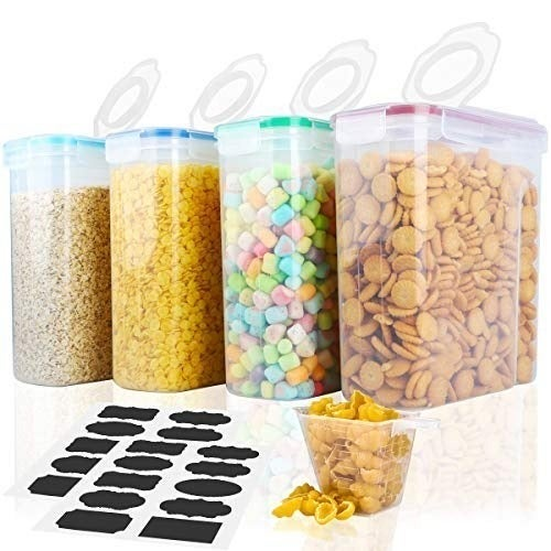 Food Storage Container Set (4) 16.9 Cups