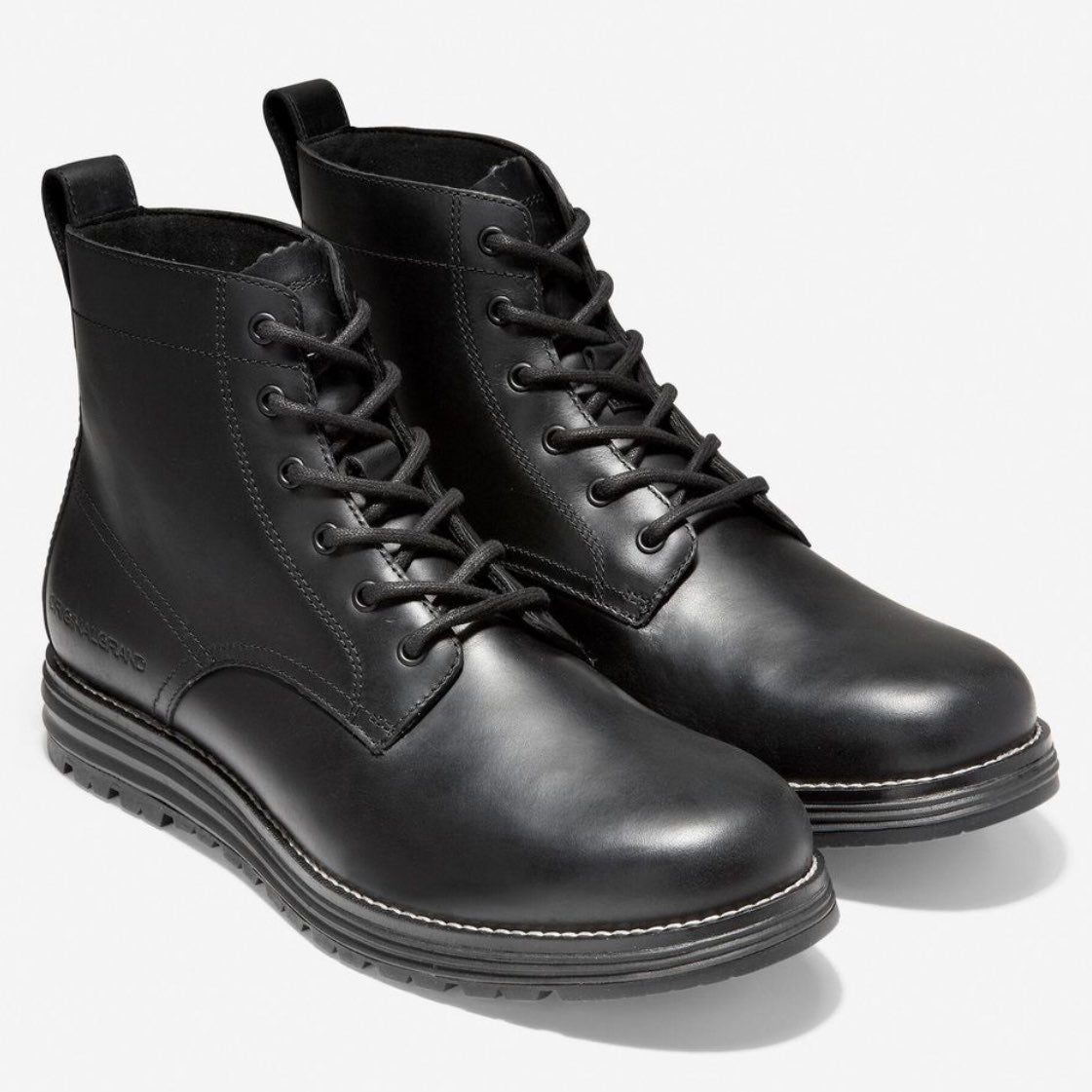 Cole Haan Original Grand Black Boots