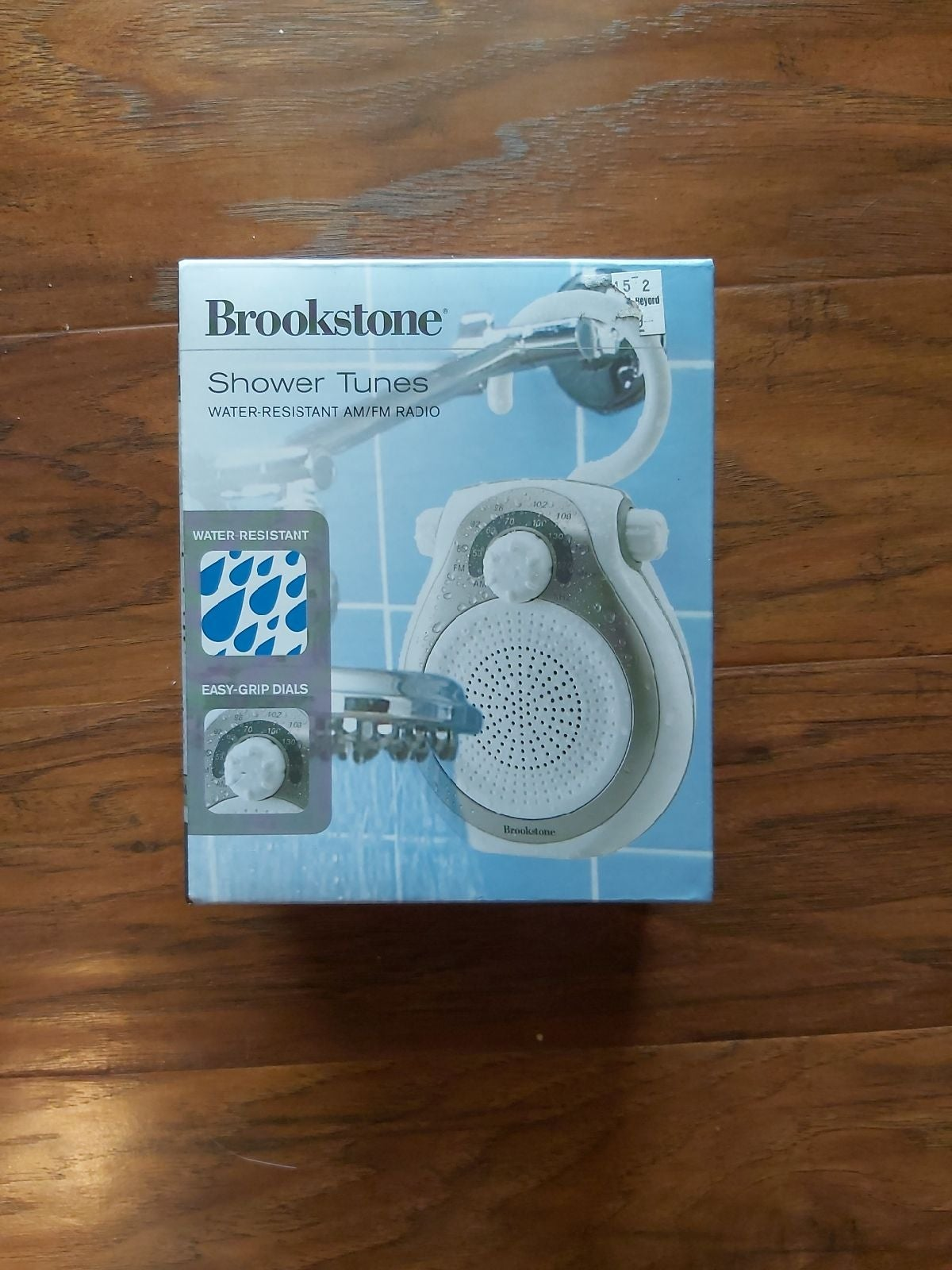 Brookstone Shower Tunes water resistant