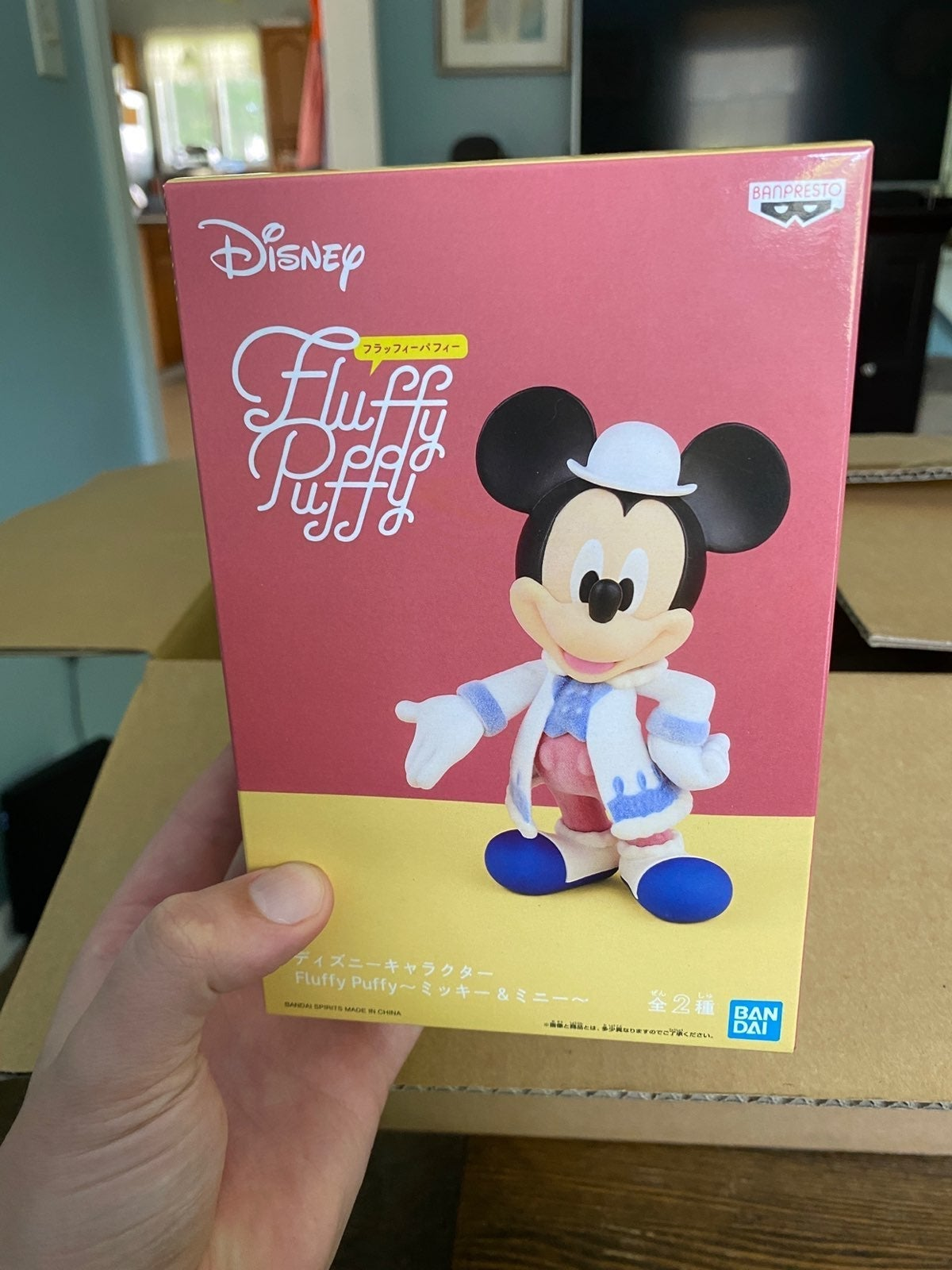 Mickey Mouse Fluffy Puffy Figure