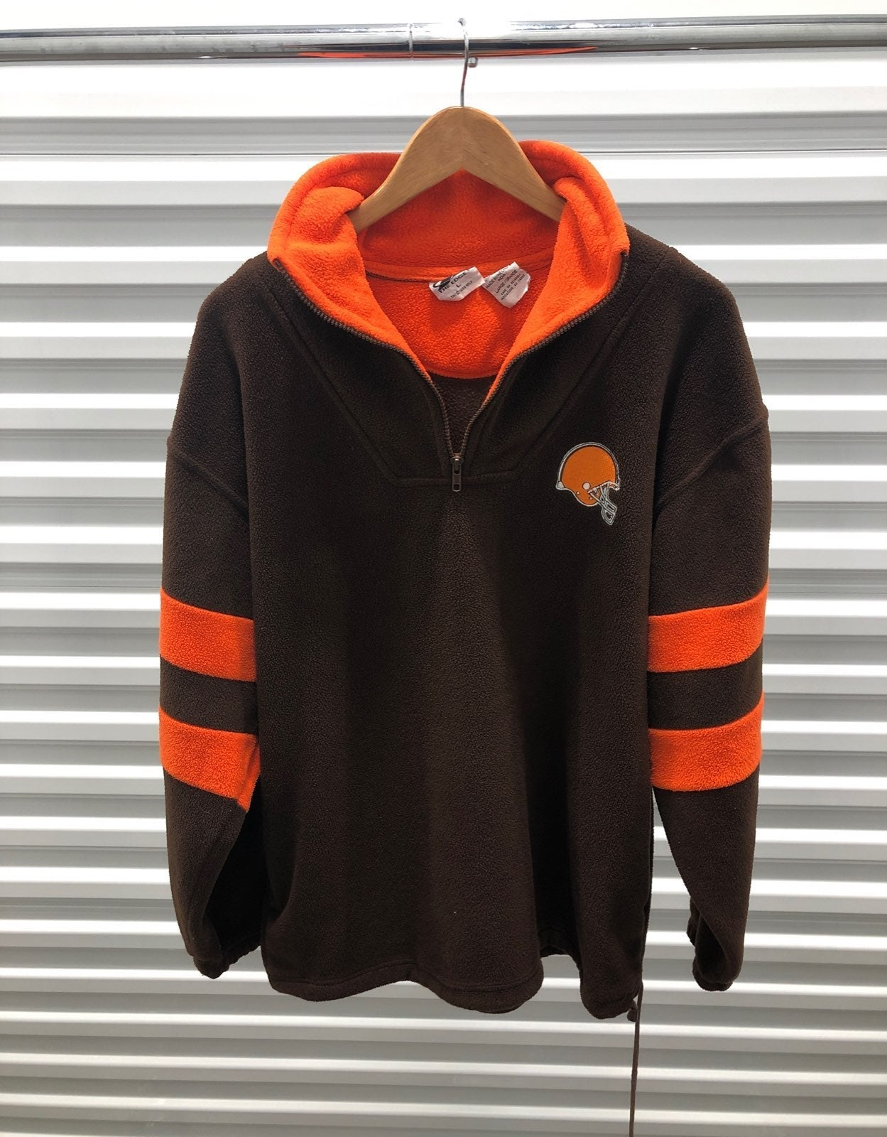 Vintage Cleveland Browns Fleece Pullover