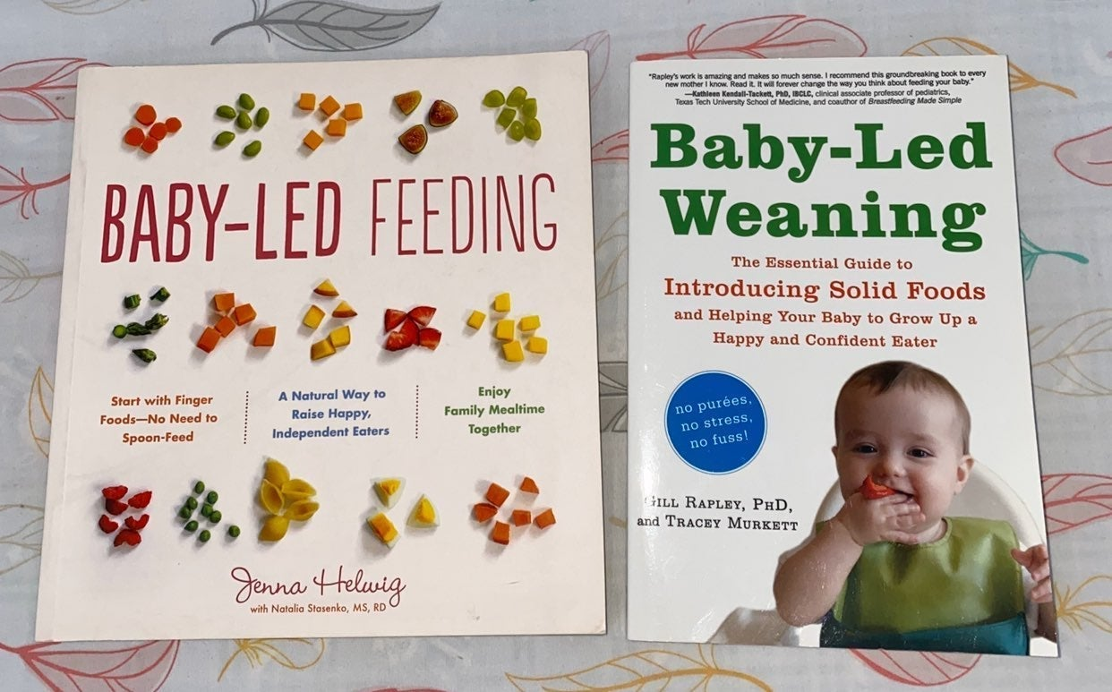 Baby Led Weaning Books