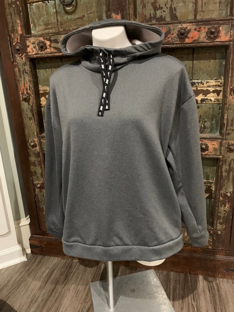 Like new gray nike hoodie pullover Large