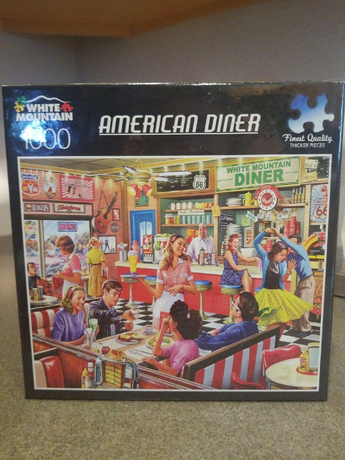 American Diner Puzzle