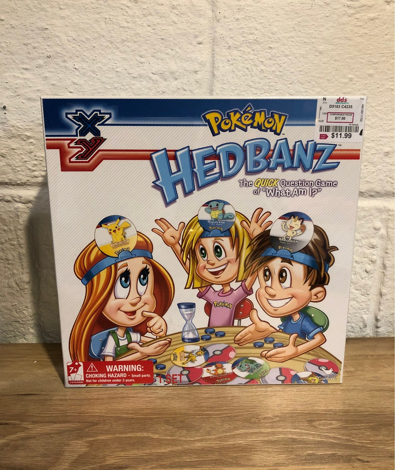 POKEMON XY HedBanz Game NIB