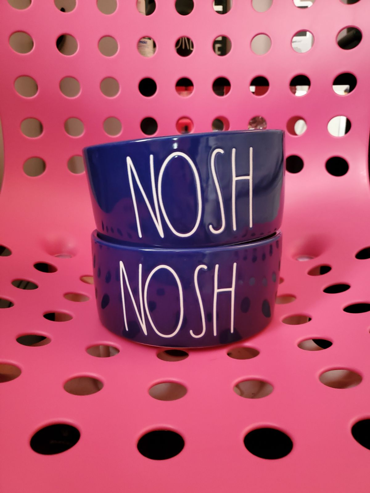 NOSH pet bowls (set of 2)