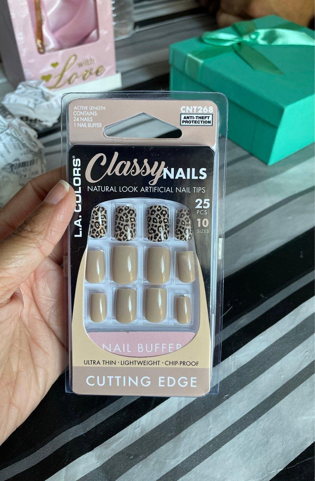 L.A. Colors nails