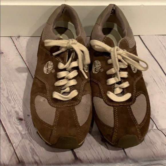 Timberland Brown/Tan Kids' Sneakers 6.5