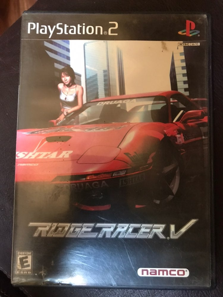 PS2 Ridge Racer V game Playstation 2