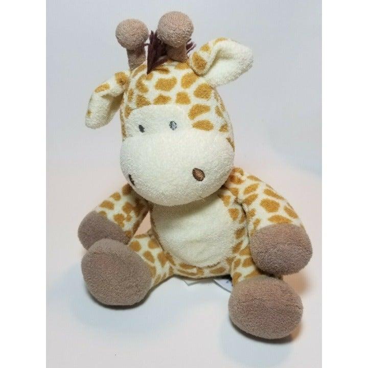 """Nat & Jules Baby Giraffe 9"""" Plush"""
