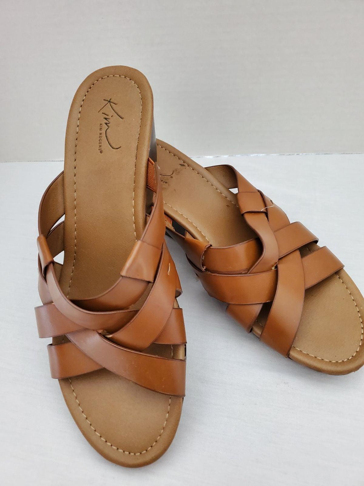 Sandals wedge 9.5 women