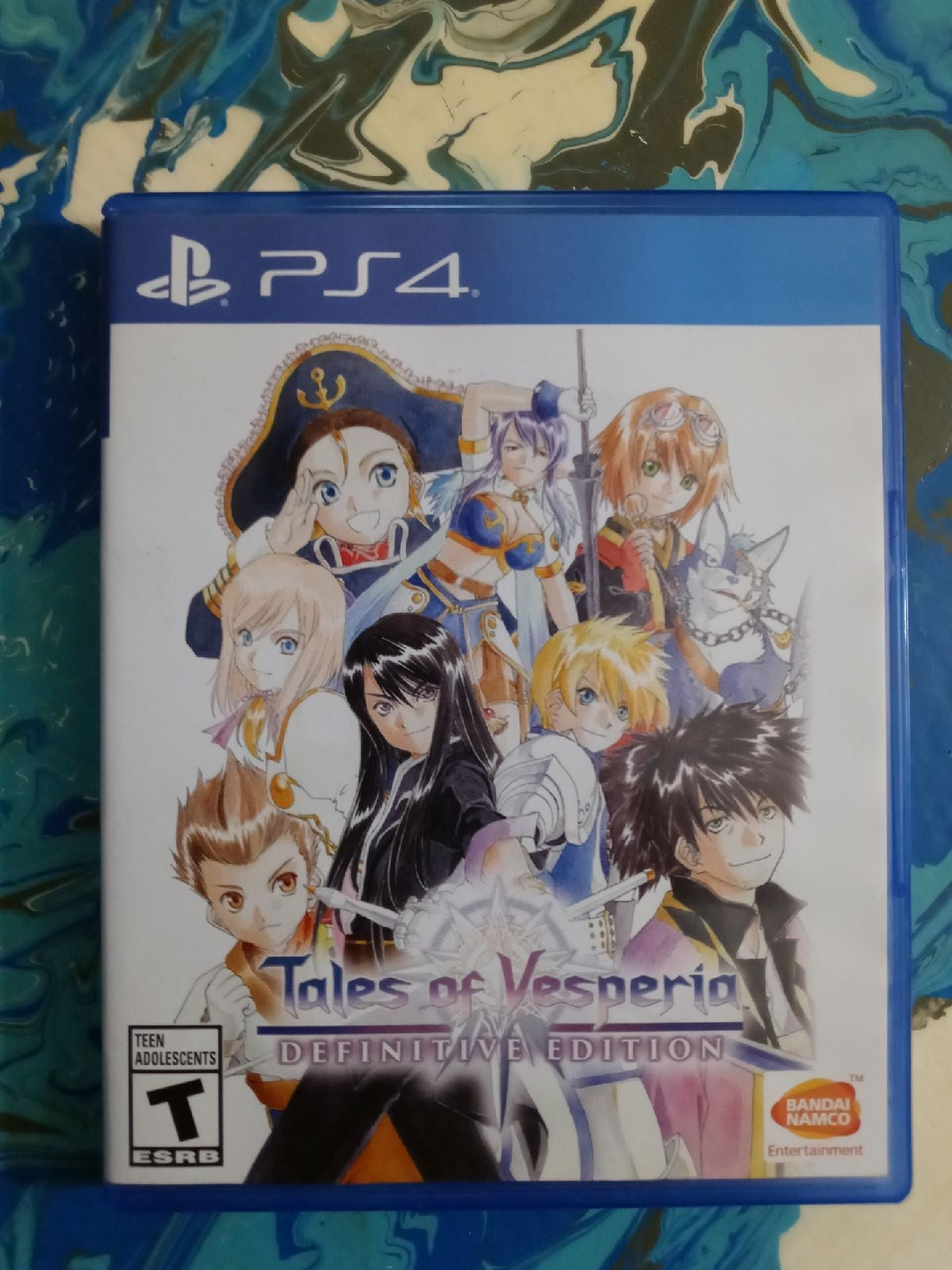 ps4 games Tales of Vesparia Definitive E