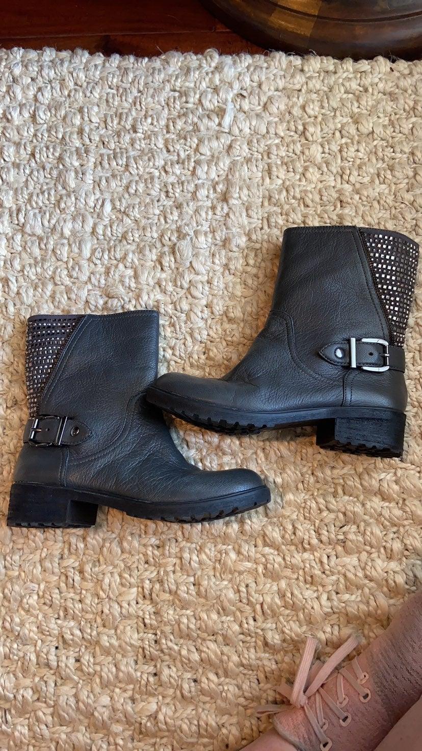 NEW in box Gianni Bini Bling Boots coal