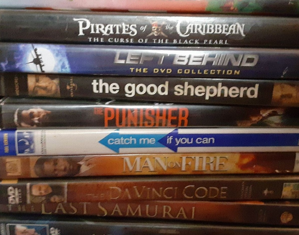 13 dvd lot- action