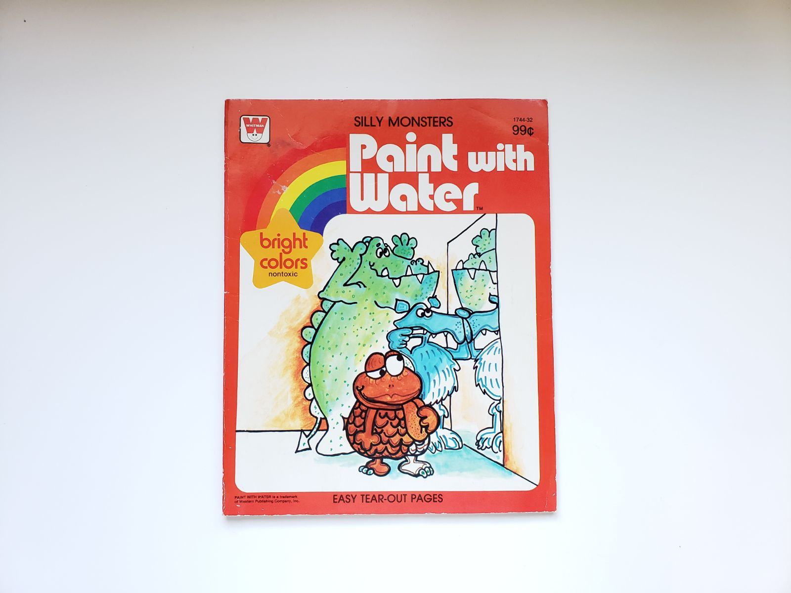 Silly Monsters, Paint Water Book