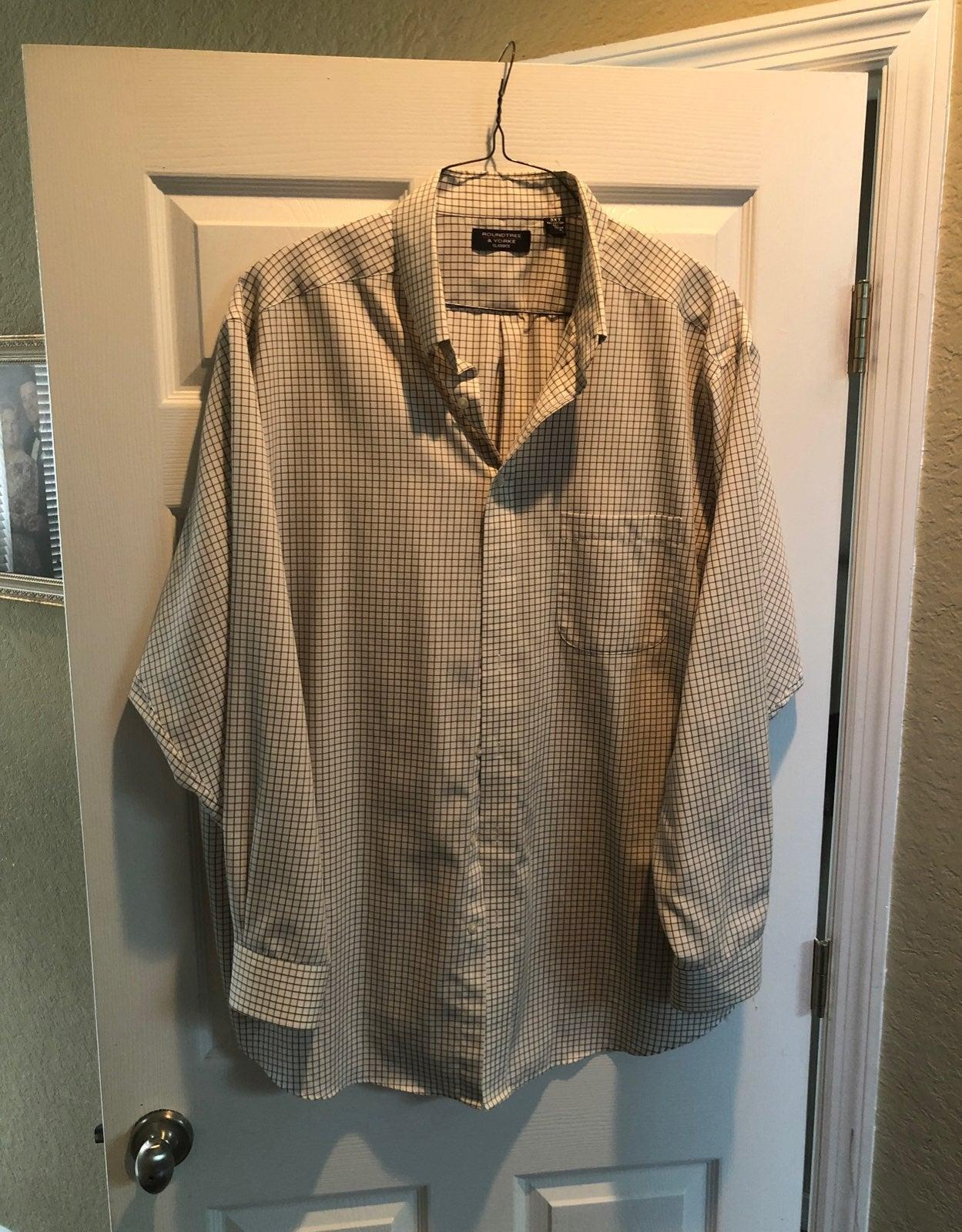 Roundtree and York Dress shirt
