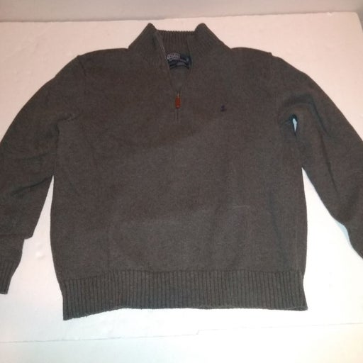 Polo Ralph Lauren Sweater Large Gray