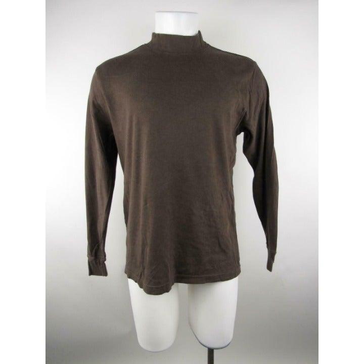 John Ashford Mock Neck Long T-Shirt
