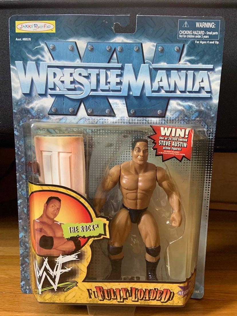 WWF Wrestlemania XV The Rock