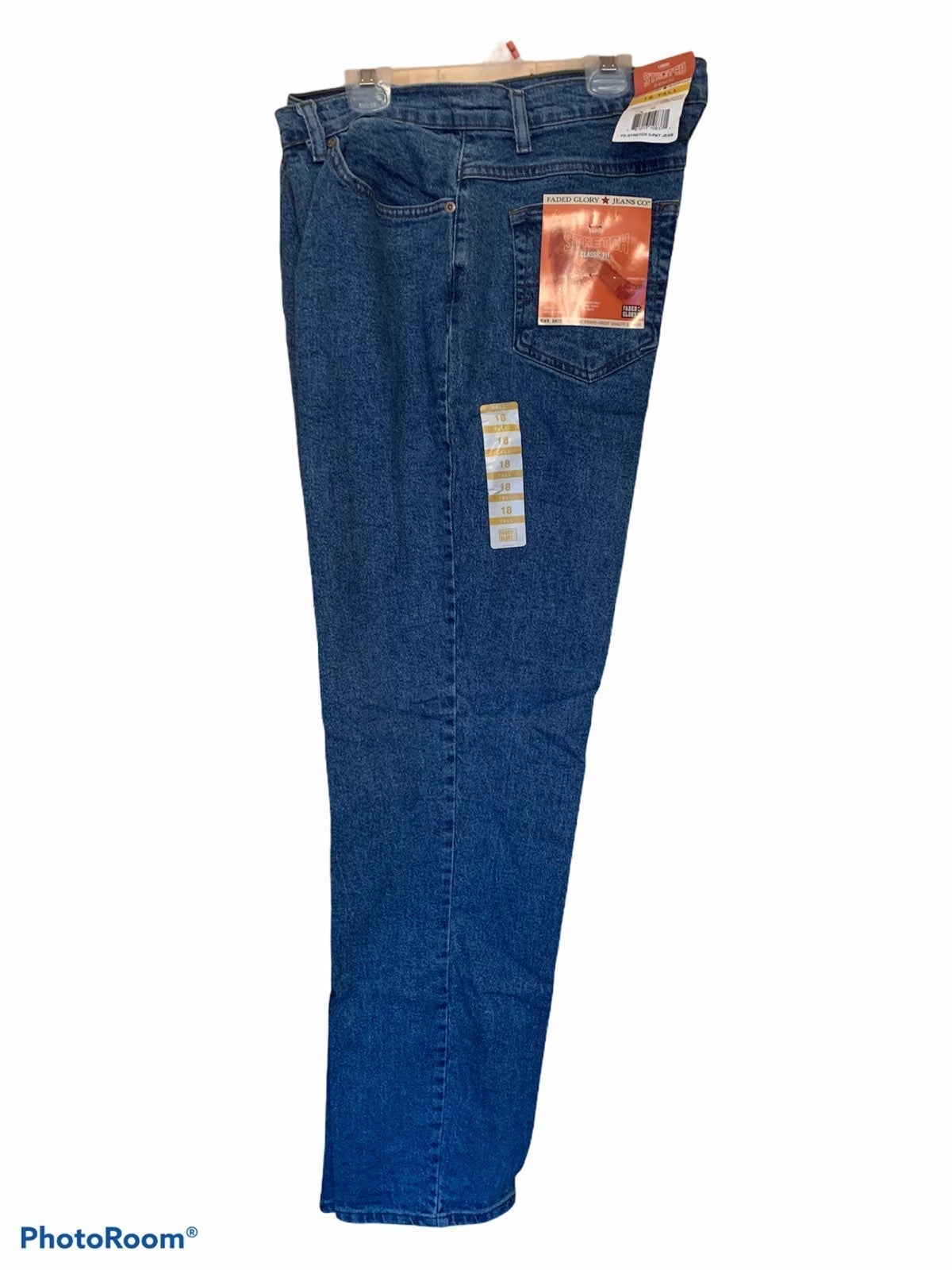 VTG Faded Glory Women's Jeans 18 Tall