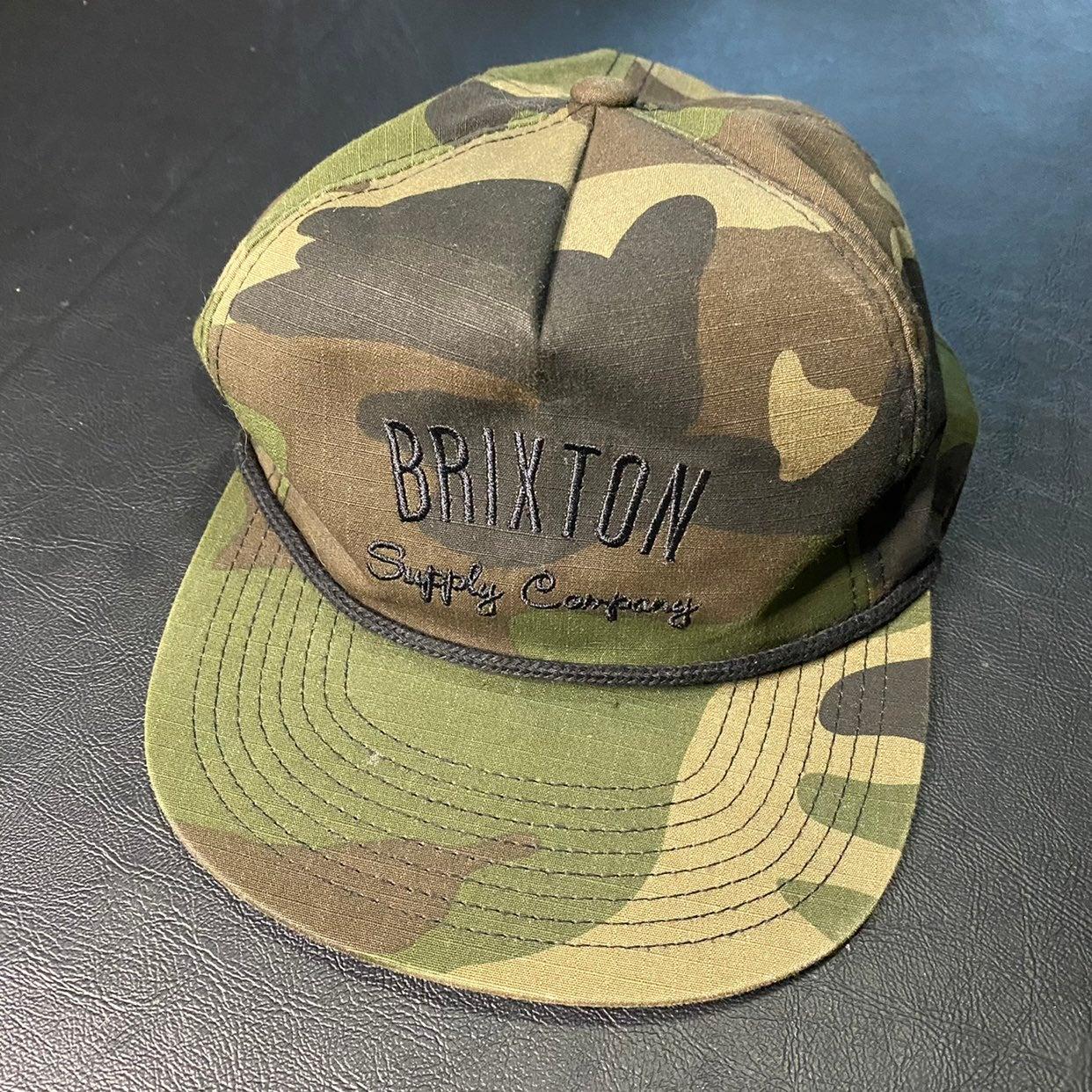 Brixton Adult Casual Adjustable Camo Hat