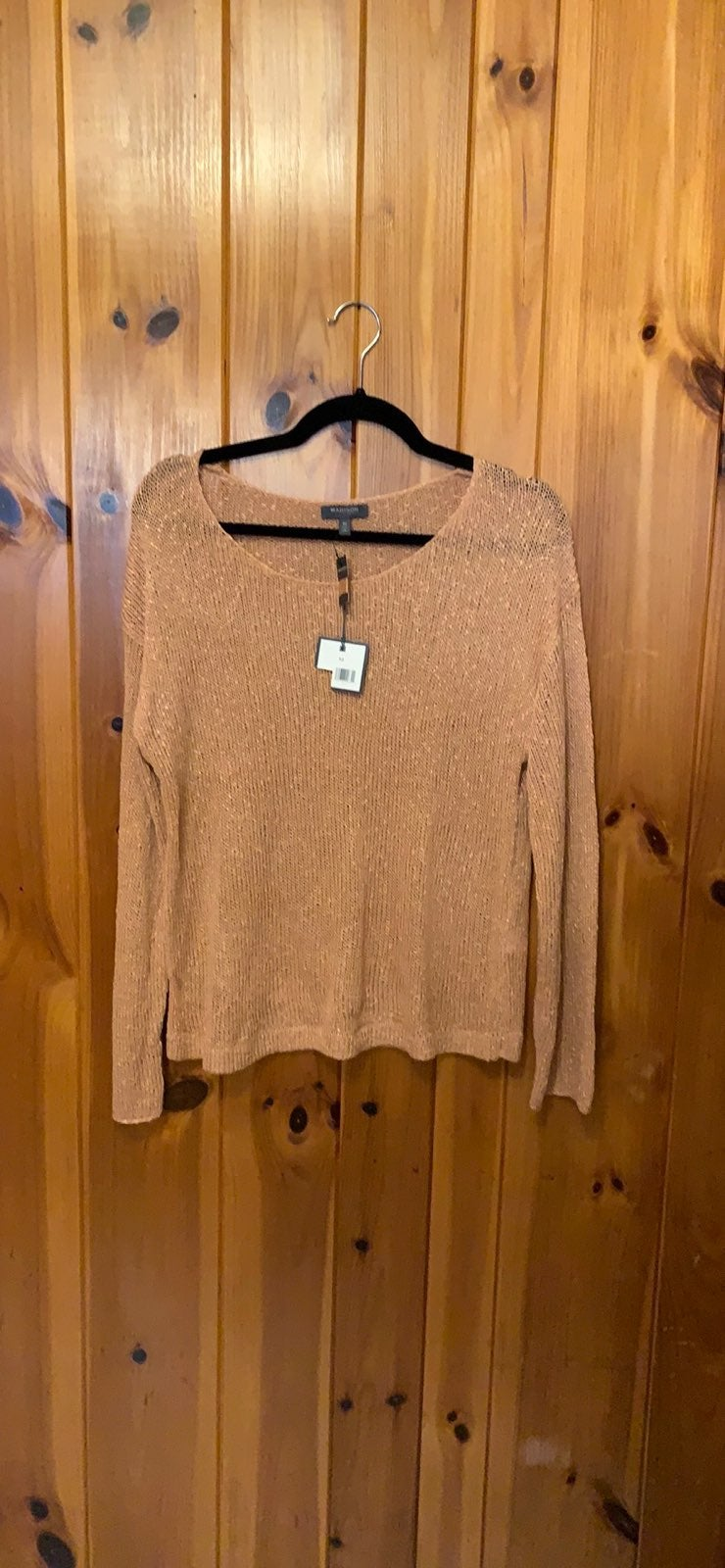 NWT blush sweater
