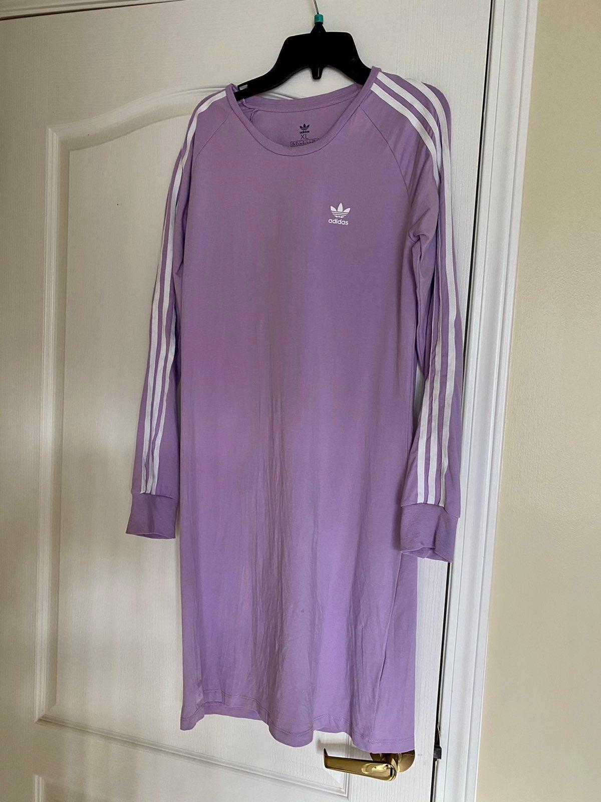 Adidas dress XL girls purple