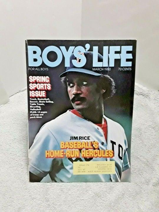 Boys Life Magazine 1980 Jim Rice