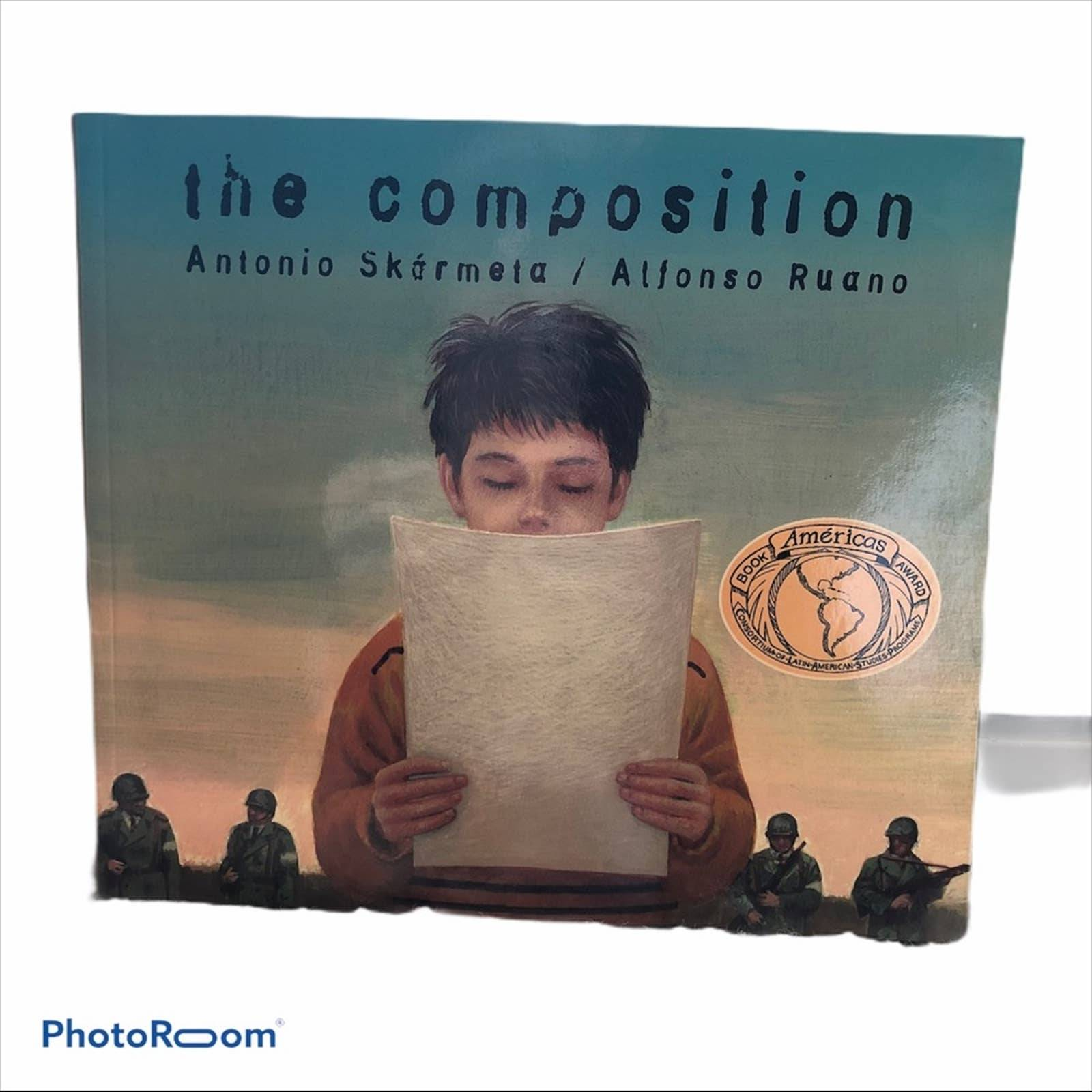 the composition paperback book