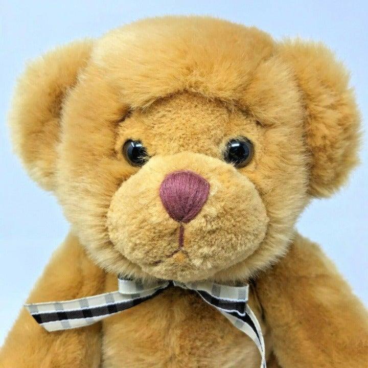 Russ Berrie Brown Plush Bear Articulated