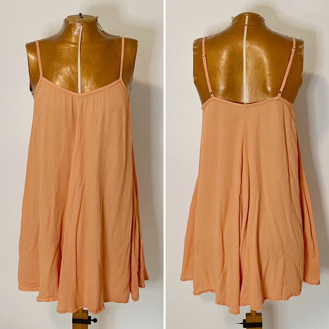 MINKPINK Apricot Swing Tank Dress