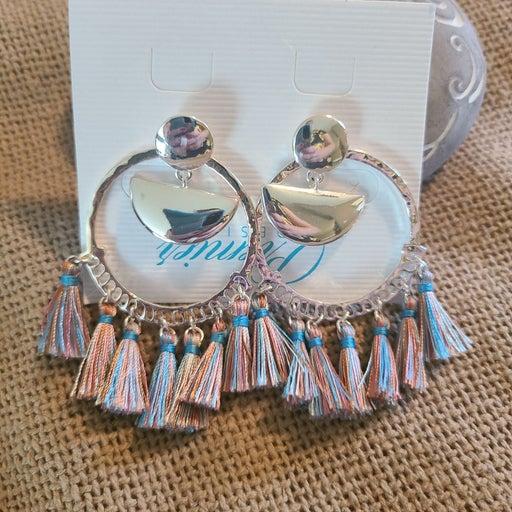 Premier Designs Waikiki silver earrings