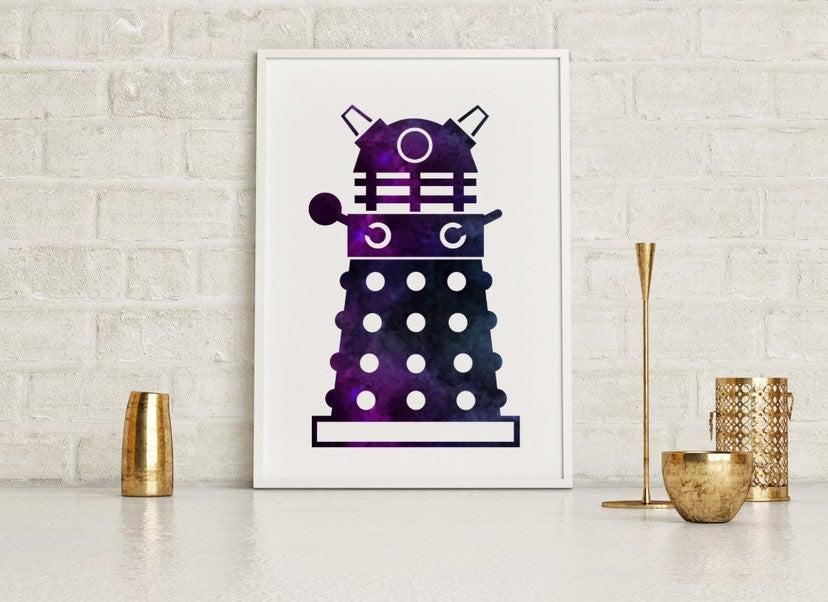 Dalek Galaxy Framed Wall Art