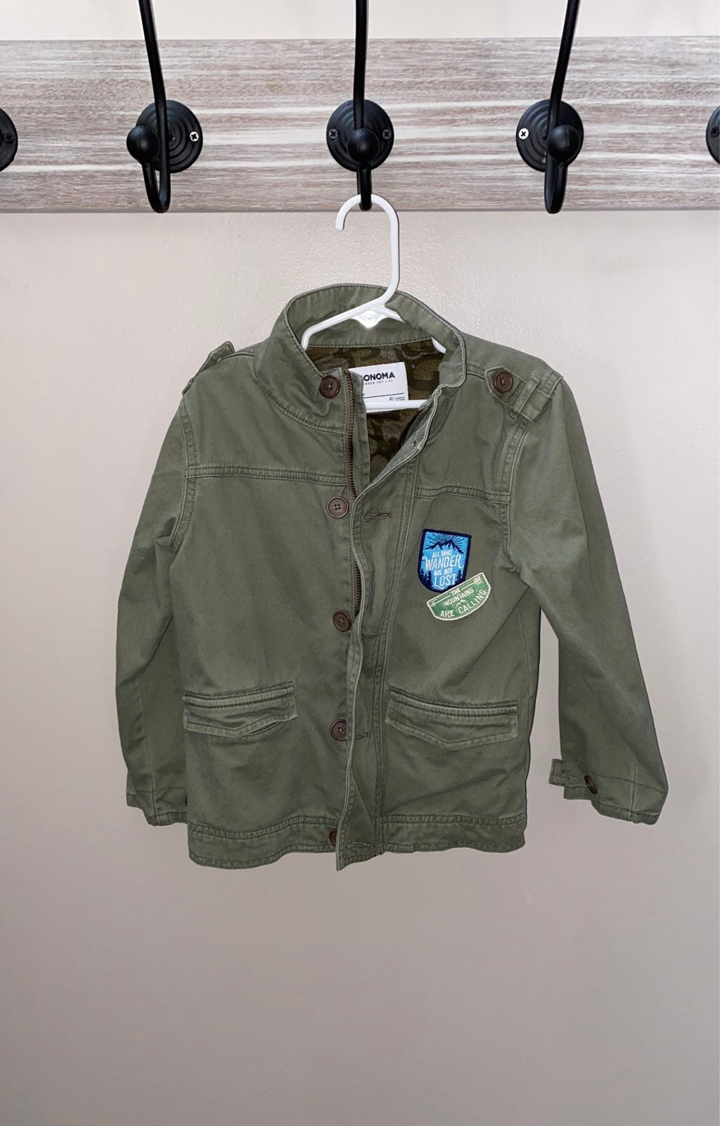 Kids lightweight jacket