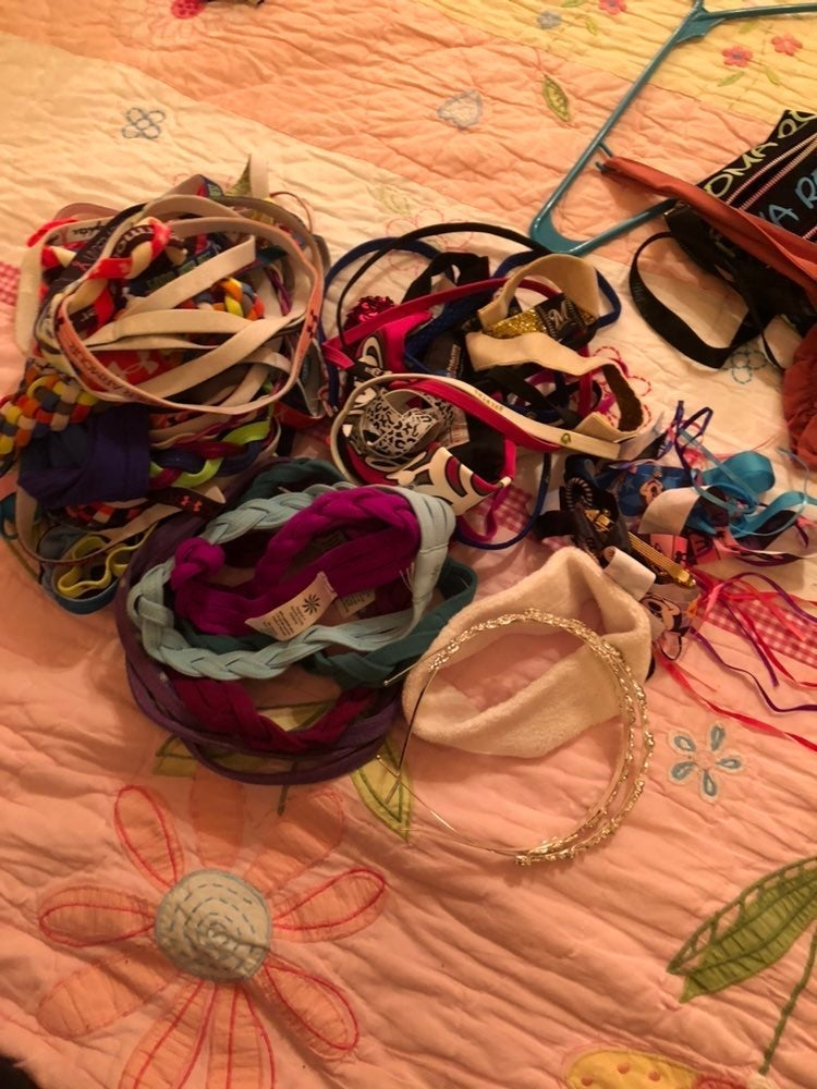 Tons of hair accessories