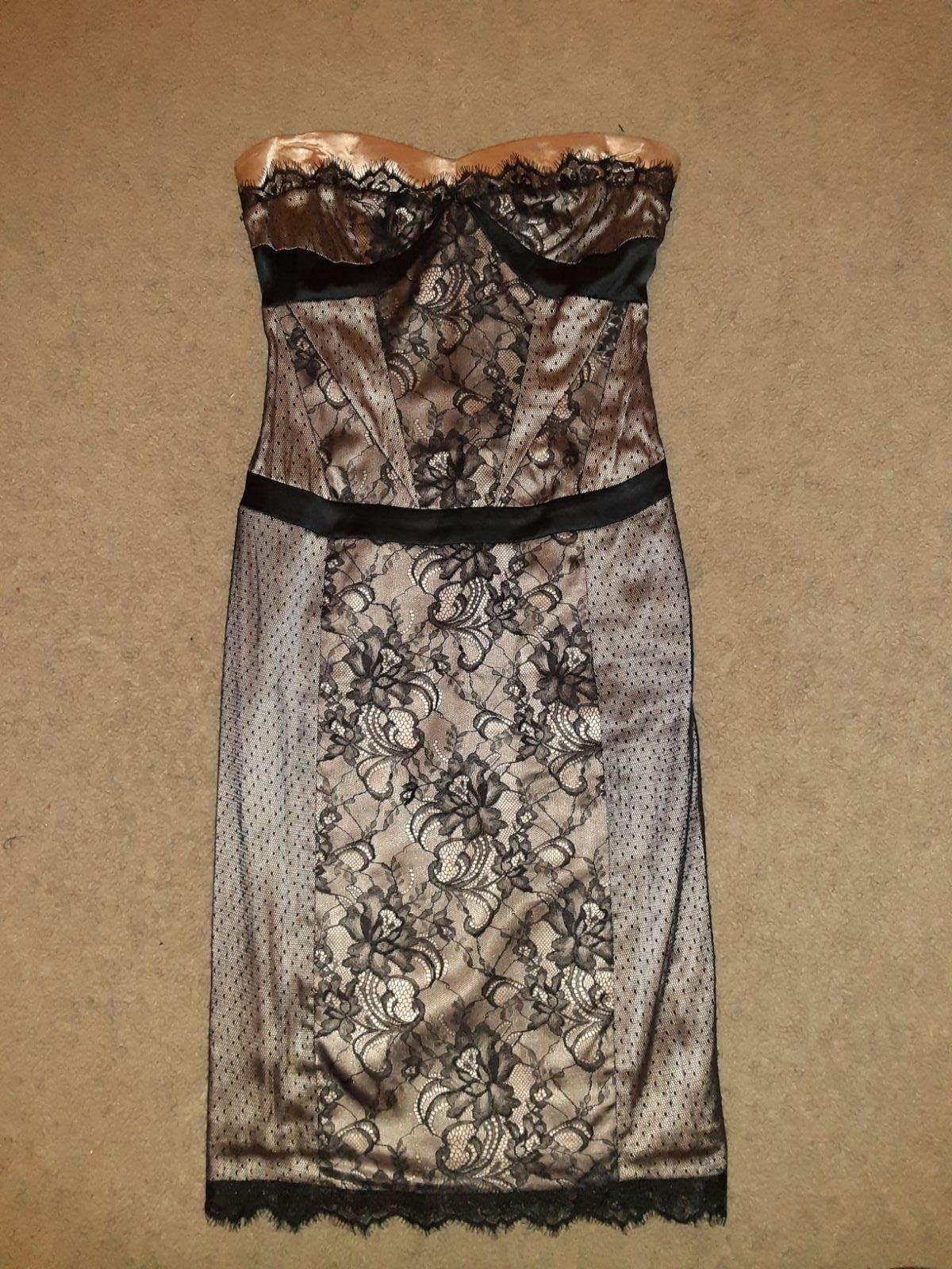 Bebe strapless dress...size XS