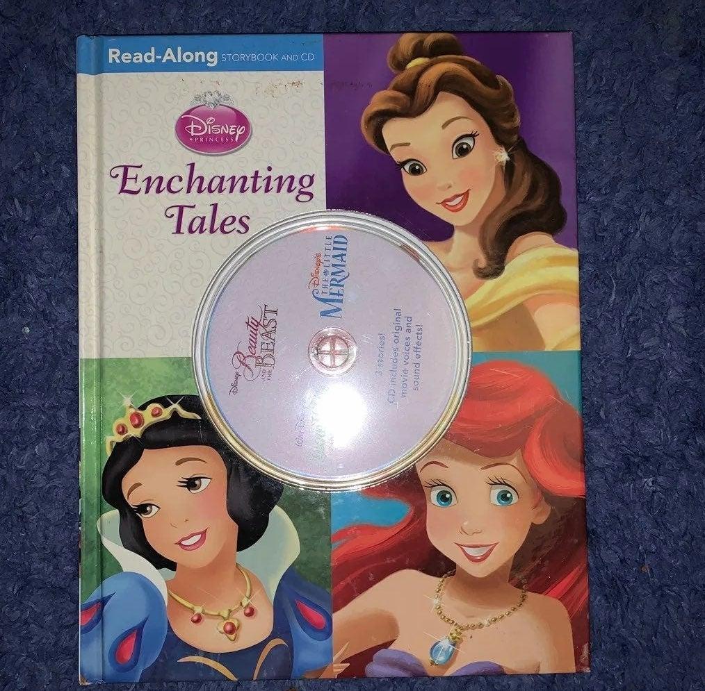 Disney Princess read along book