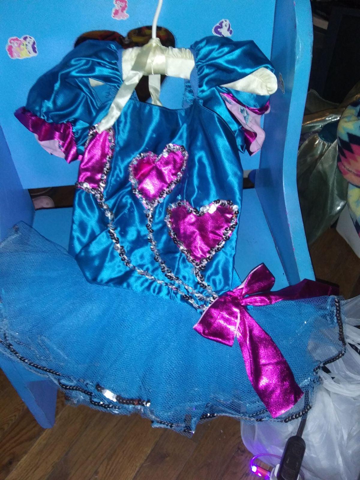 tutu heart and ribbons