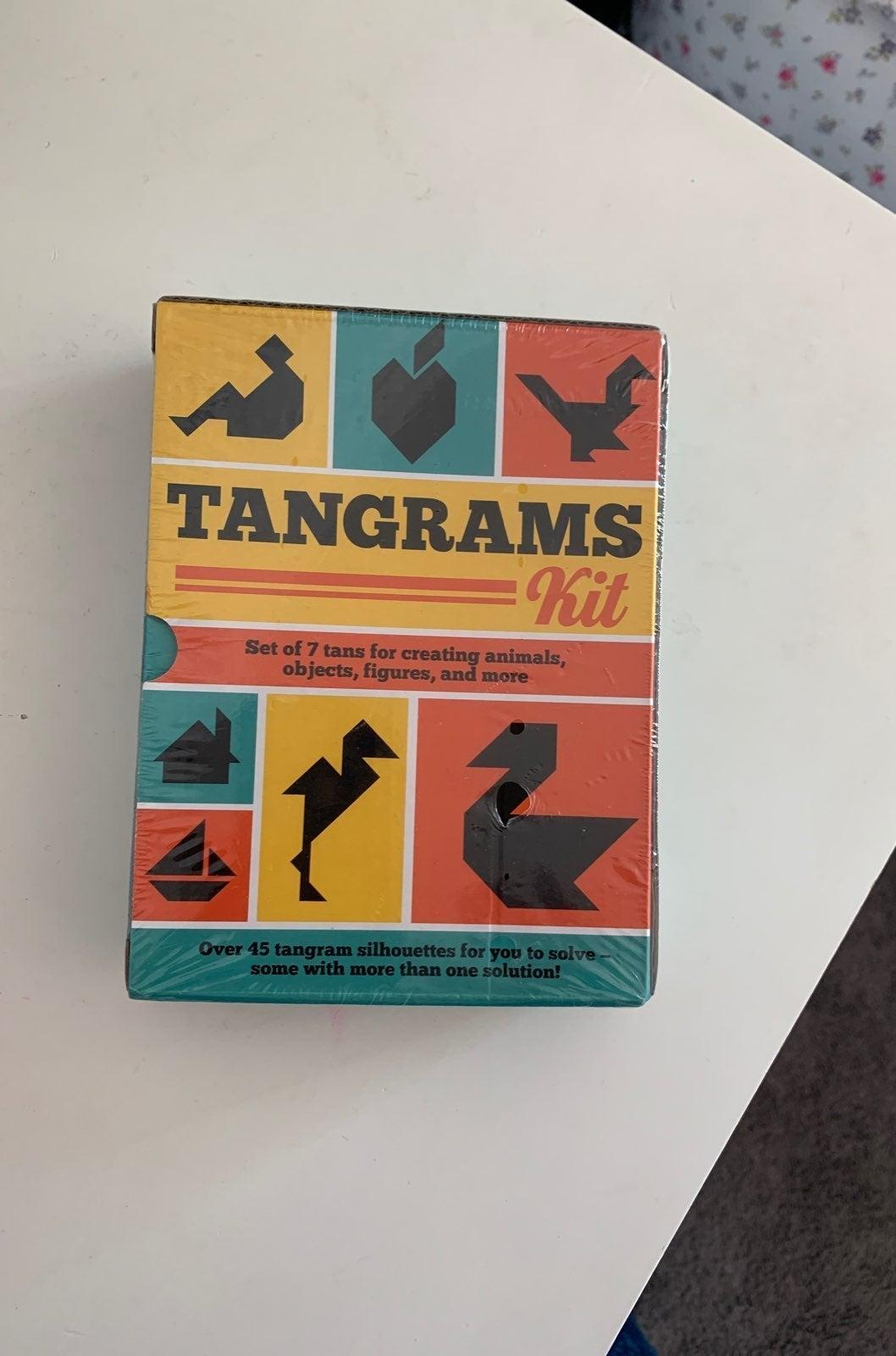 Tangrams kit