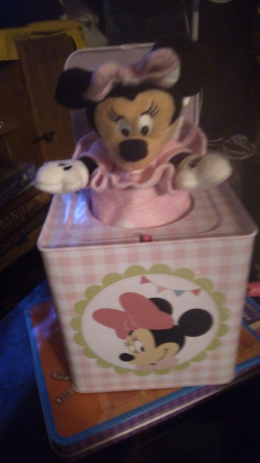 Disney minnie jack in the box