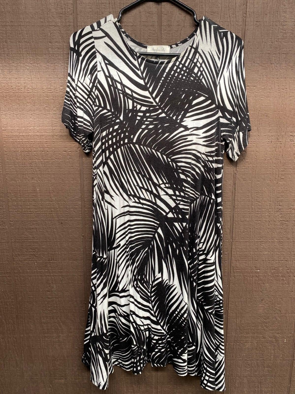 Hour Glass Lily Tropical Dress