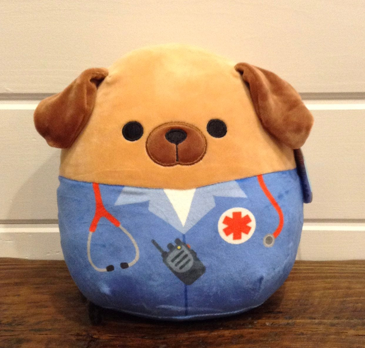 """Squishmallow 8"""" Daryl ~ First Responder"""