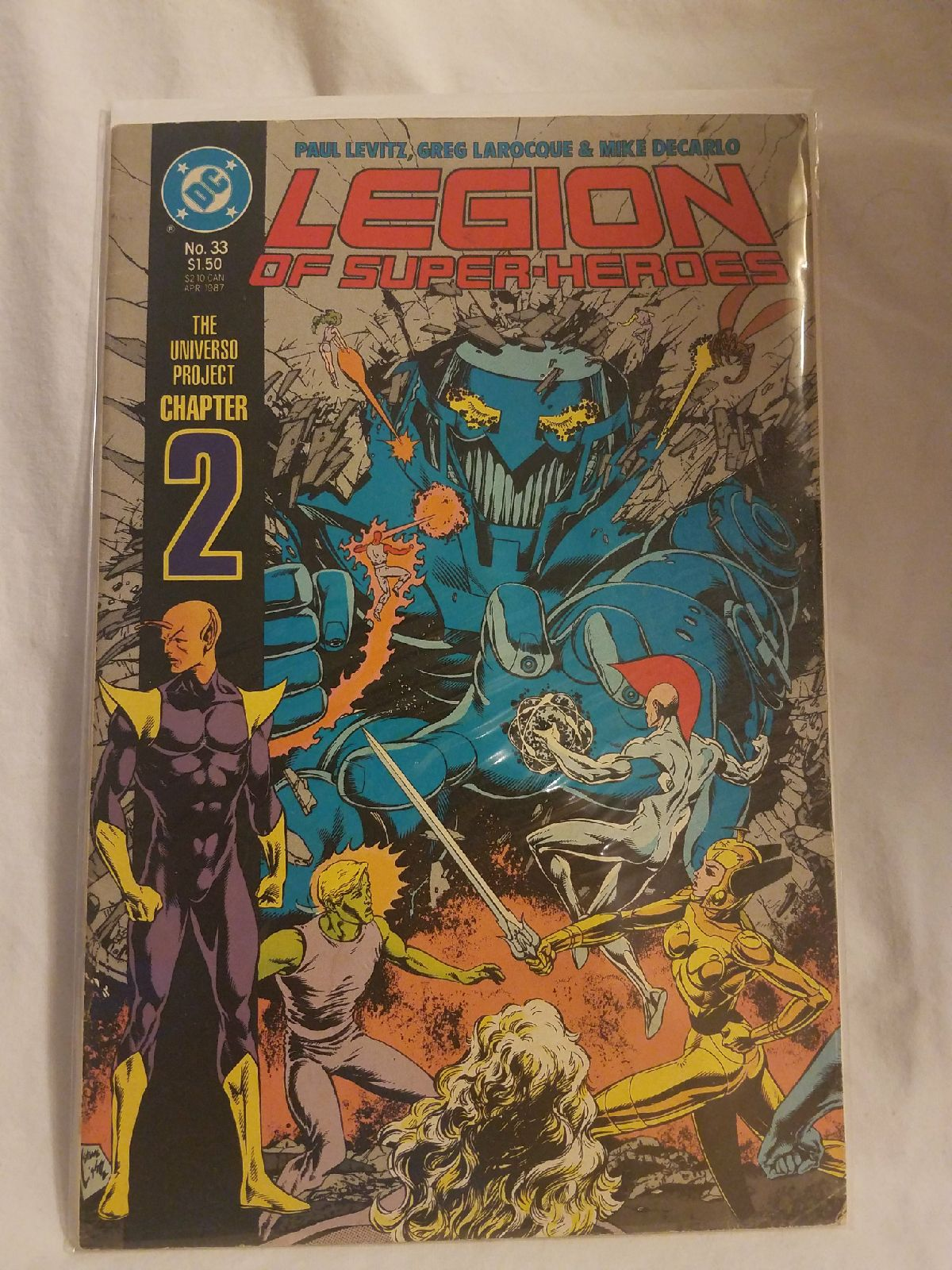 Legion of Super-Heroes #33 (DC) Comic