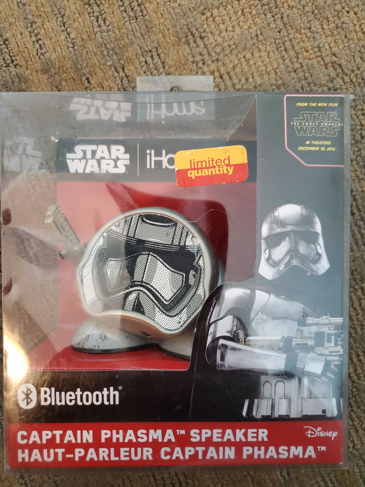 STAR WARS BLUETOOTH SPEAKER.